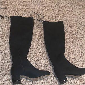 Michael Kors velvet boots